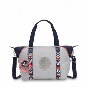 Kipling Sac à Main New Grey Emb Bl