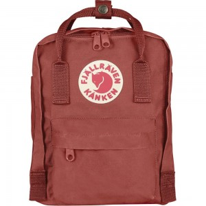 FJALLRAVEN Kånken Mini - Sac à dos - rouge Rouge [ Promotion Black Friday Soldes ]