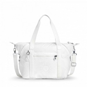 Kipling Sac Cabas avec Sangle Détachable Lively White