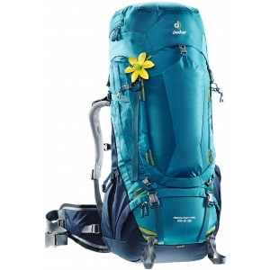 Deuter Sac à dos trekkink Aircontact Pro 65+15 SL Bleu Denim [ Promotion Black Friday Soldes ]