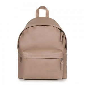 Eastpak Padded Pak'r® Taupe Leather [ Promotion Black Friday Soldes ]