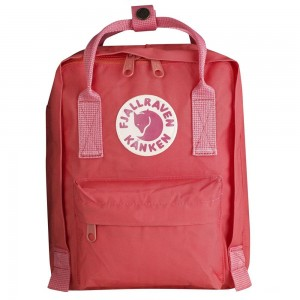 FJALLRAVEN Kanken - Sac à dos - Mini rose Rose [ Promotion Black Friday Soldes ]