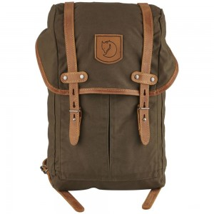 FJALLRAVEN No. 21 - Sac à dos - Small olive Olive [ Promotion Black Friday Soldes ]