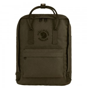 FJALLRAVEN Sac à dos RE- KÅNKEN 16L Olive [ Promotion Black Friday Soldes ]