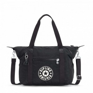 Kipling Sac Cabas avec Sangle Détachable Lively Black