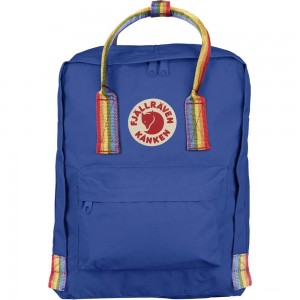 FJALLRAVEN Kånken Rainbow - Sac à dos - bleu Bleu [ Promotion Black Friday Soldes ]