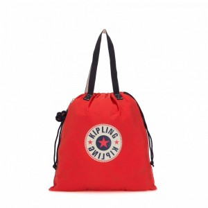 Kipling Grand fourre-tout pliable Active Red Bl