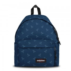Eastpak Padded Pak'r® Minigami Blue Birds [ Promotion Black Friday Soldes ]