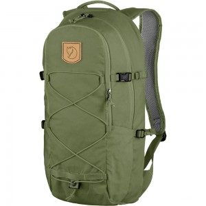 FJALLRAVEN Abisko Hike 15 - Sac à dos - olive Olive [ Promotion Black Friday Soldes ]