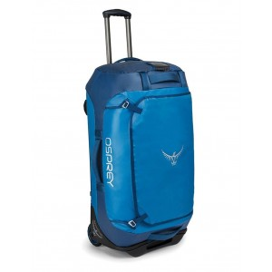 Osprey Sac de voyage à roulettes - Rolling Transporter 90 Kingfisher Blue [ Promotion Black Friday Soldes ]