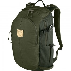 FJALLRAVEN Keb Hike 20 - Sac à dos - olive Olive [ Promotion Black Friday Soldes ]