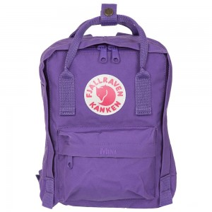 FJALLRAVEN Kanken Mini violet Violet [ Promotion Black Friday Soldes ]