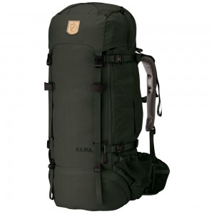 FJALLRAVEN Kajka 75 - Sac à dos - olive Olive [ Promotion Black Friday Soldes ]