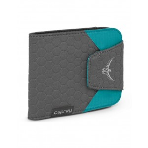 Osprey Portefeuille RFID - Quicklock RFID Wallet Tropic Teal [ Promotion Black Friday Soldes ]