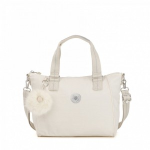 Kipling Sac à Main Medium Avec Bretelle Amovible Dazz White